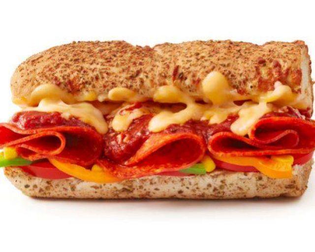 "6"" Cheesy Pepperoni Sub"