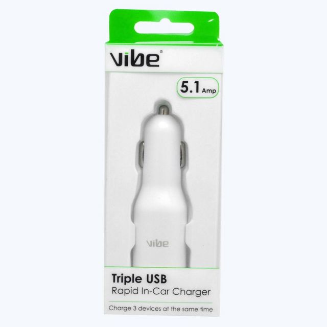 Triple Car Charger