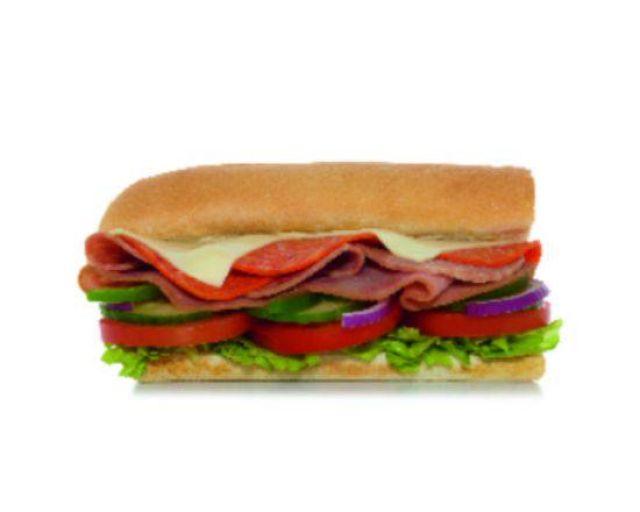"""6"""" Italian B.M.T. Sub"""