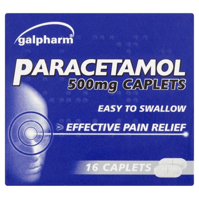 Paracetamol Capsules 500mg 16s