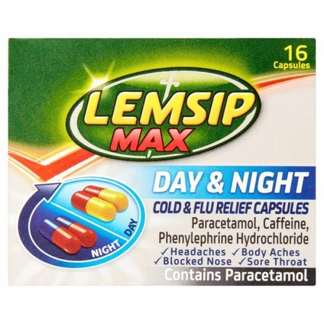 Lemsip Max Day & Night Capsules 16s