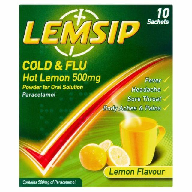 Lemsip Max Cold & Flu 10s