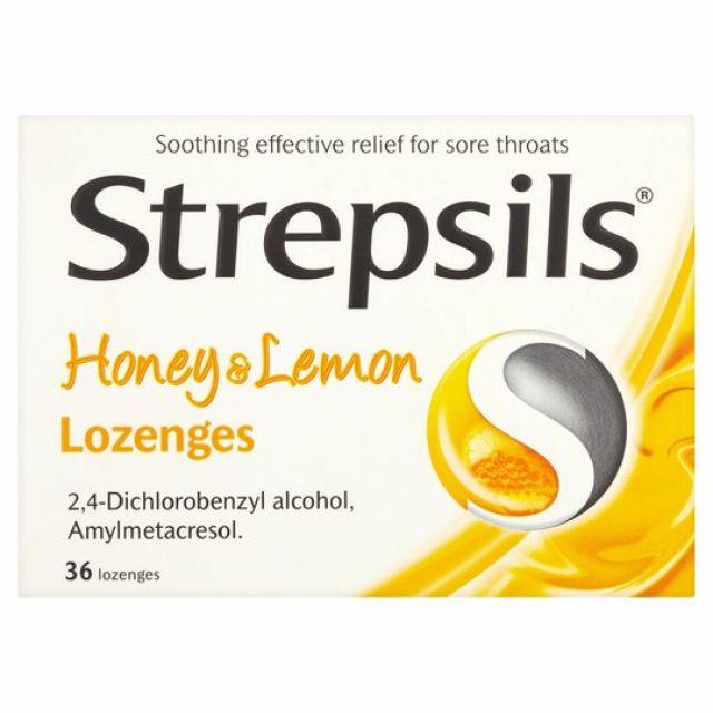 Strepsils Honey & Lemon 16s