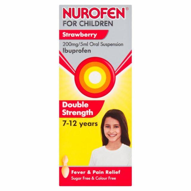 Nurofen For Children Strawberry 8s
