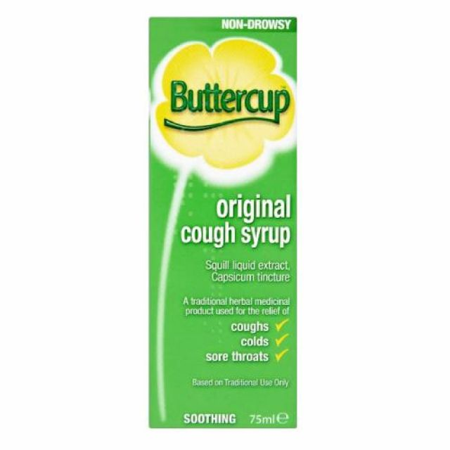 Butter Cup Original Cough Syrup 75ml