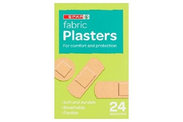 Spar Fabric Plasters 24s
