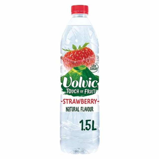 Volvic Touch of Fruits Strawberry 1.5Ltr