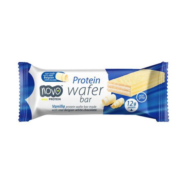 Novo Protein Vanilla Wafer Bar 40g