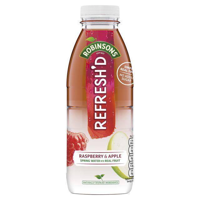 Robinson's Refresh'd Raspberry & Apple 500ml