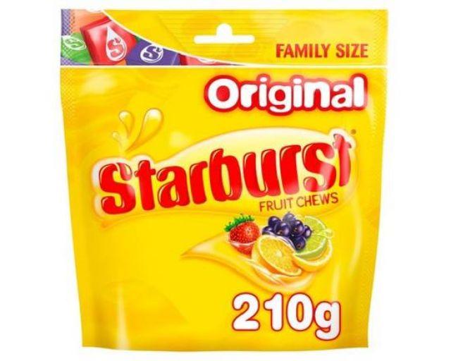 Starburst Fruit Chews Original 210g