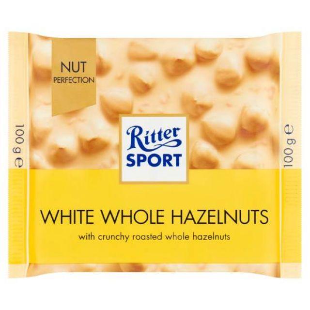 Ritter Sport White Hazelnuts 100g