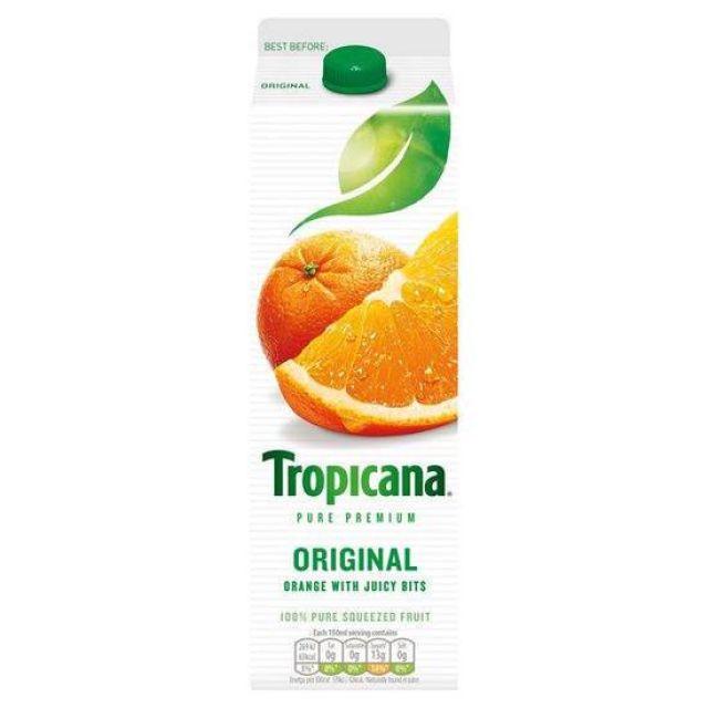 Tropicana Juice Smooth 850ml