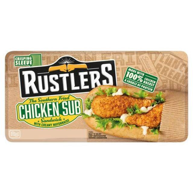 Rustlers Chicken Burger Twin 290g