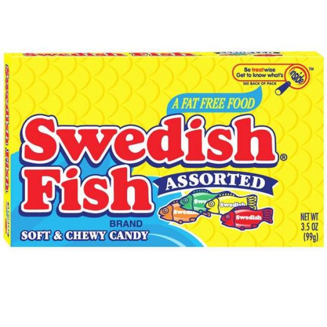 Swedish Fish Asst'd Theatre 88g
