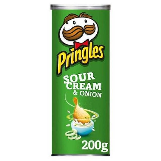 Pringles Sour Cream and Onion 200g