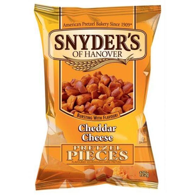 Snyders Pretzel Cheddar & Cheese 125g
