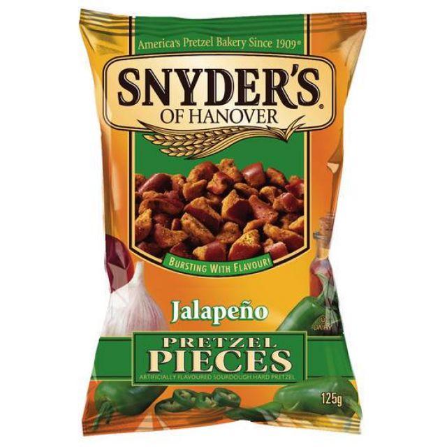 Snyders Pretzel Jalapeno Pieces 125g