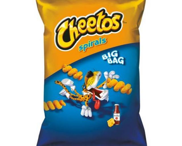 Cheetos Spirals Ketchup 85g