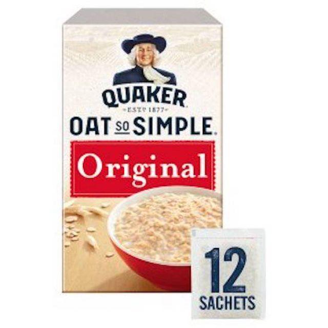 Quakers Oats Original 12 x 27g