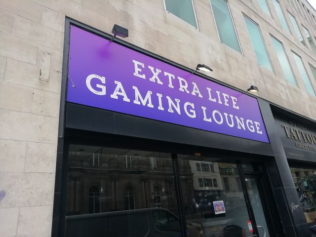 Extra Life Gaming Lounge