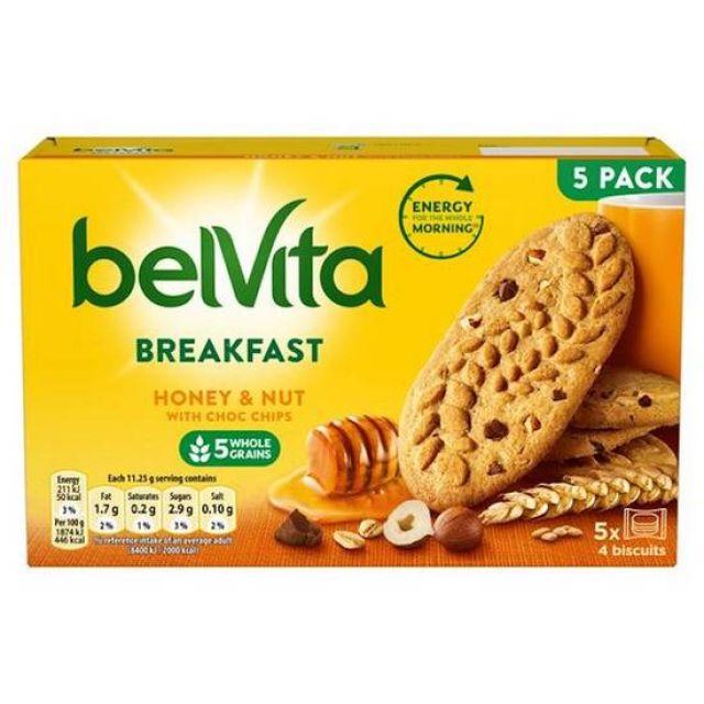 Blevita Breakfast Honey & Nut 5pack
