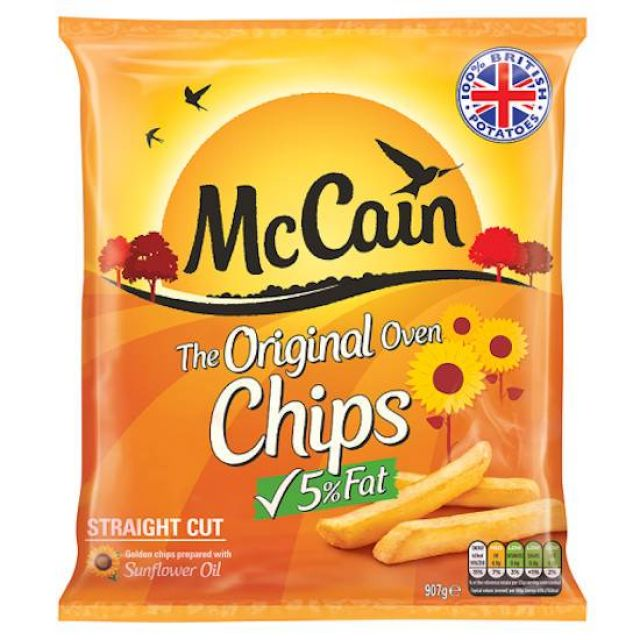 Mccain Oven Home Chips 900 g