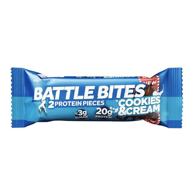 Battle Bites Cookie and Cream 60g