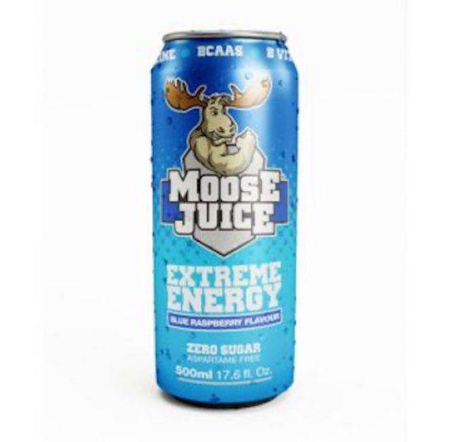 Moose Juice BCAAS Blue Raspberry 500ml