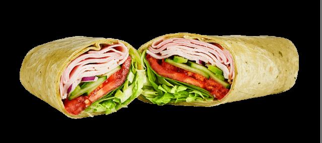 Turkey Ham Wrap