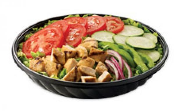 Roast Chicken Breast Salad