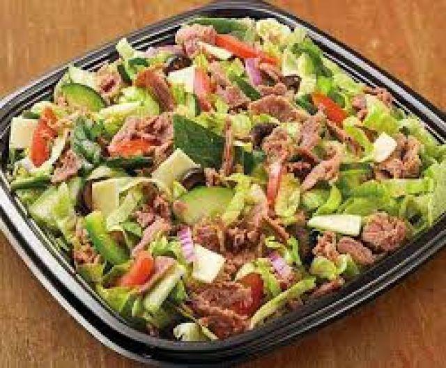 Steak & Cheese Salad