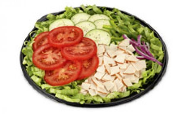 Chicken & Turkey Rasher Salad