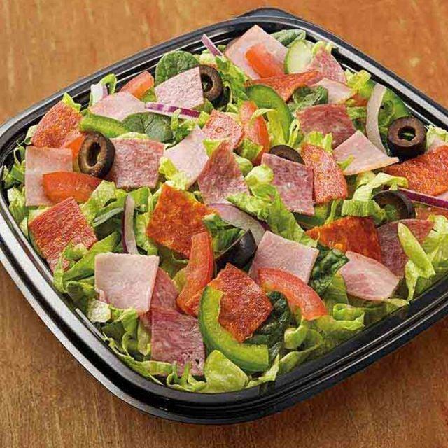Cheesy Pepperoni Salad