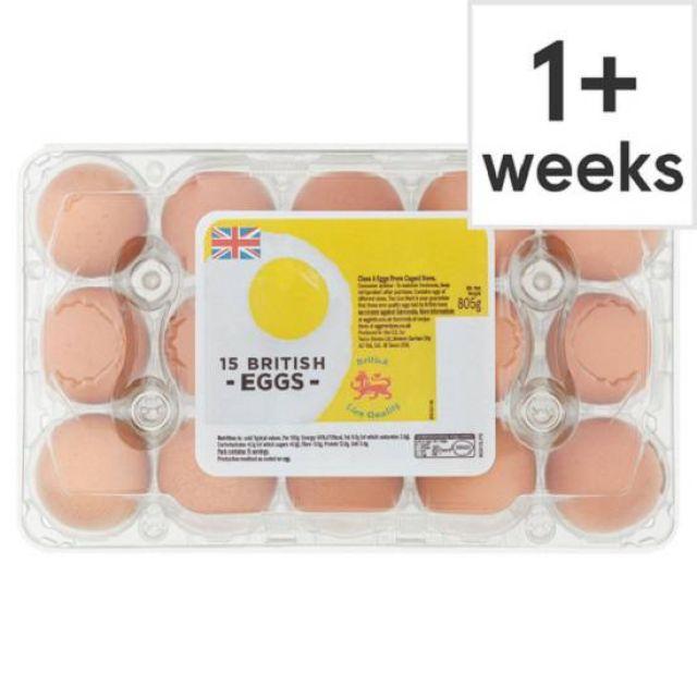 Spar Eggs Family 15 pack