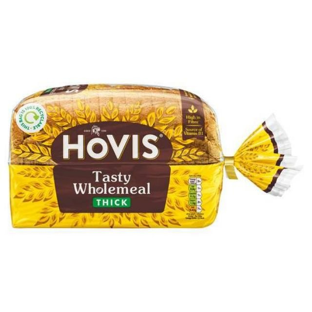 Hovis Wholemeal Thick 800g