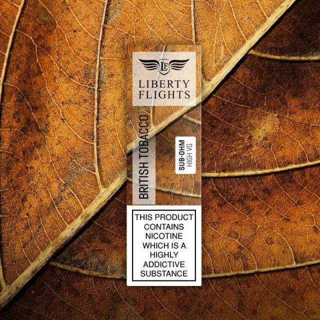 Liberty Flights E-Liquids Virginia Tobacco
