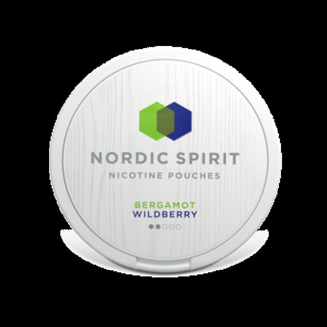 Nordic Spirit Nicotine Pouches Bergamot Wildberry 6mg