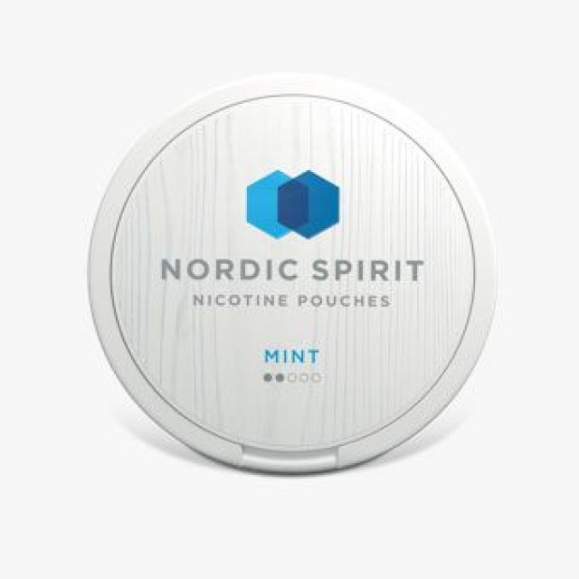 Nordic Spirit Nicotine Pouches Mint 6mg