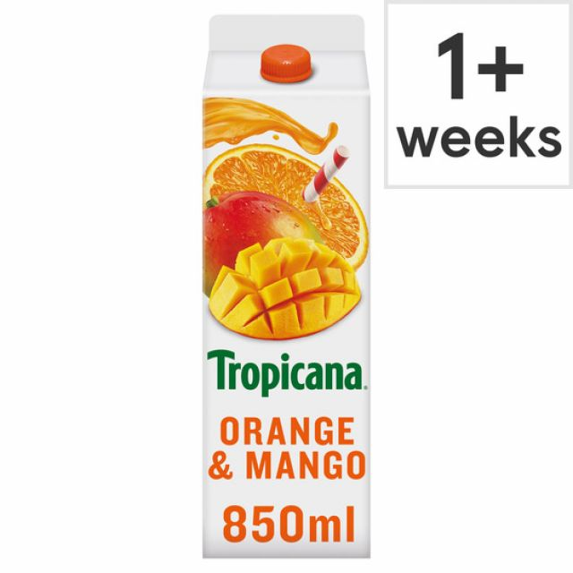 Tropicana Juice Orange & Mango 850 ml