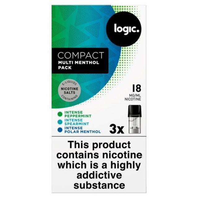 Logic Compact Intense Menthol 18mg