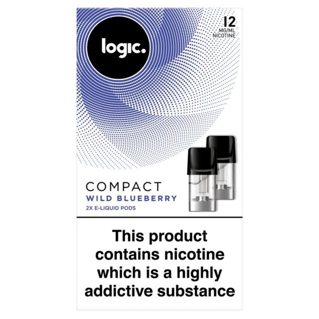 Logic Compact   Wild Blueberry 12mg