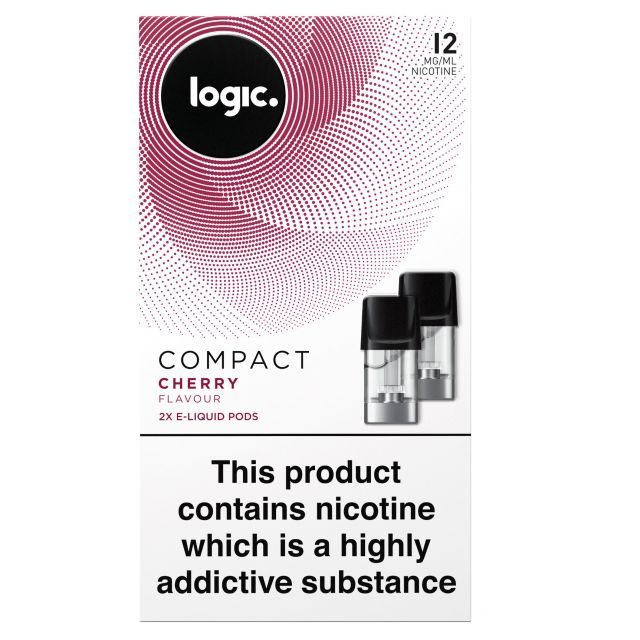 Logic Compact Cherry Flavour 12mg