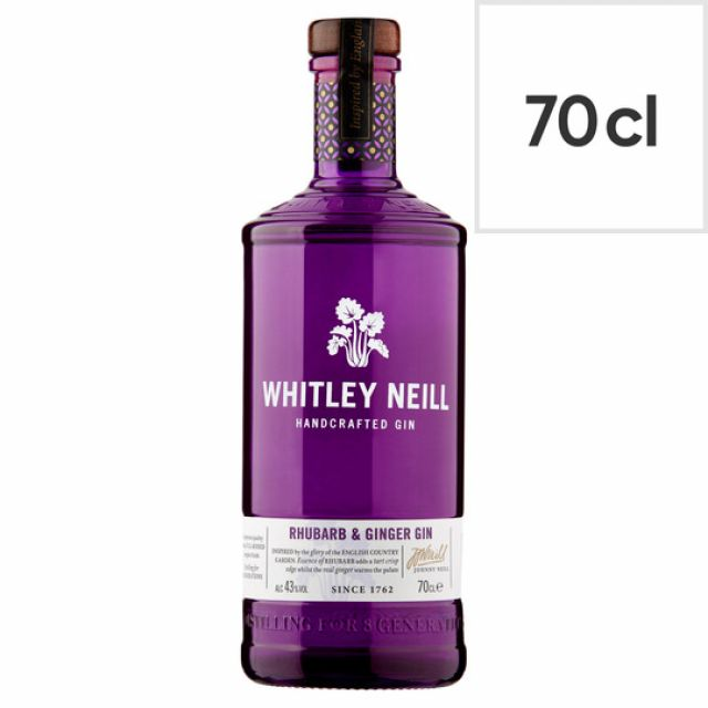 Whitley Neill Handcrafted Gin - Rhubarb Ginger 70cl