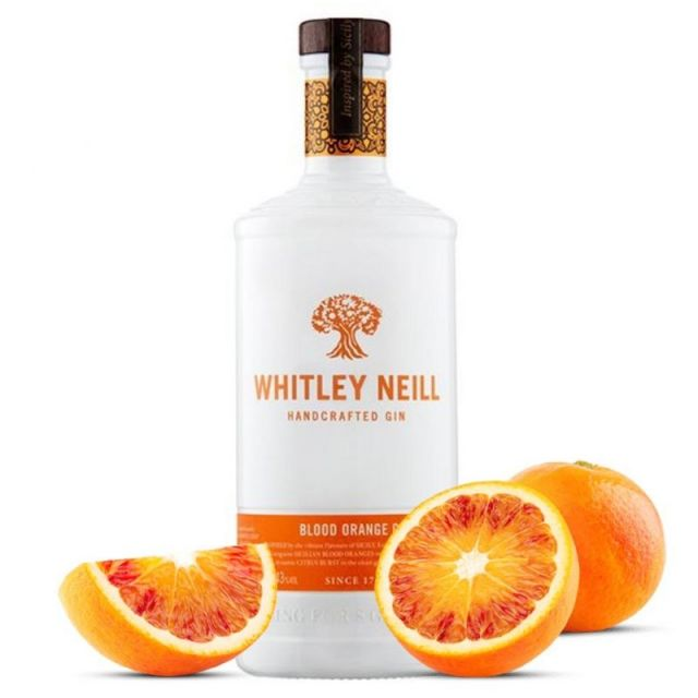 Whitley Neill Handcrafted Gin - Blood Orange 70cl
