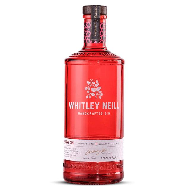Whitley Neill Handcrafted Gin - Raspberry  70cl