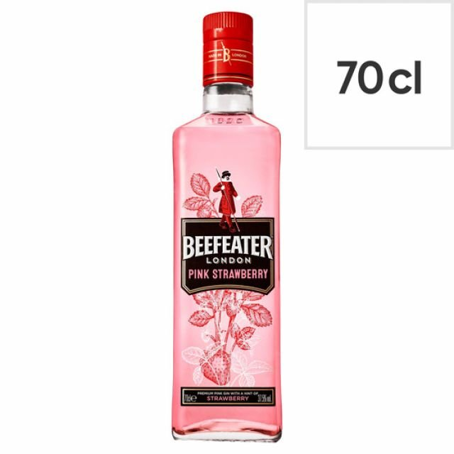 BEEFEATER London Pink Strawberry Gin 70cl