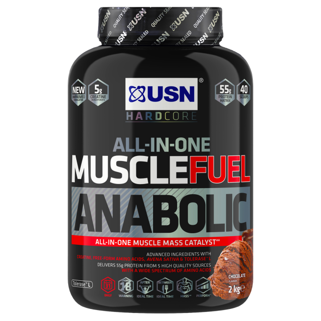 USN Anabolic Muscle Fuel Chocolate 2kg