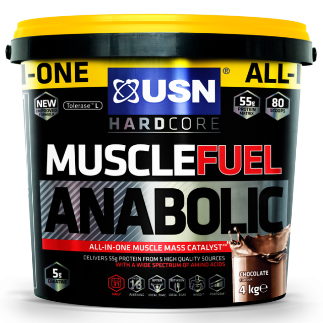 USN Anabolic Muscle Fuel Chocolate 4kg