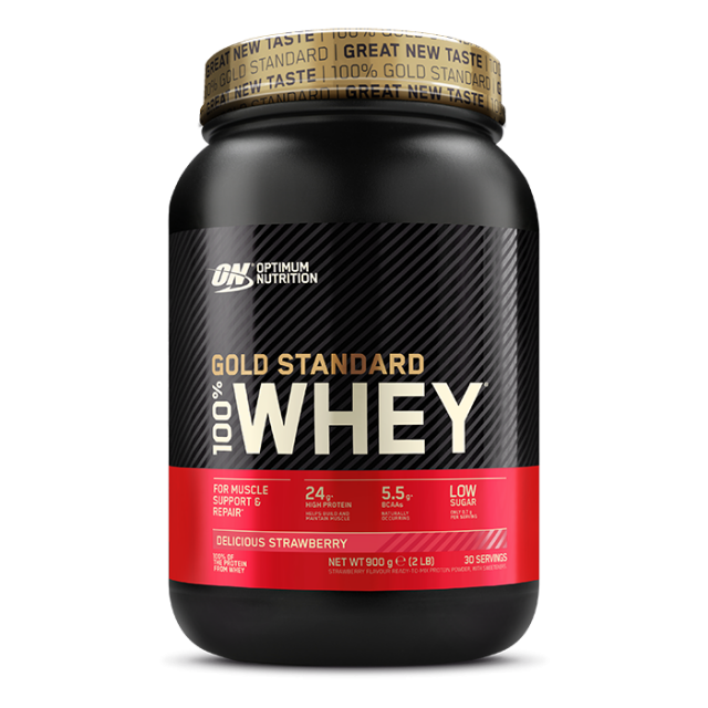 Optimum Nutrition Gold Standard Whey Strawberry 908g