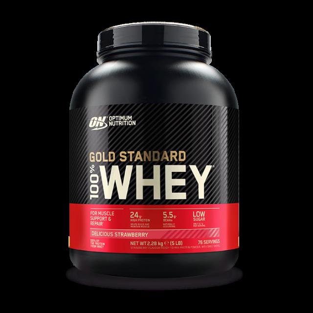 Optimum Nutrition Gold Standard Whey Strawberry 2.27kg